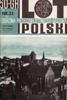 Lot i Obrona Przeciwlotniczo-Gazowa Polski. 1935, nr23