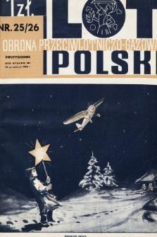 Lot i Obrona Przeciwlotniczo-Gazowa Polski. 1935, nr25-26