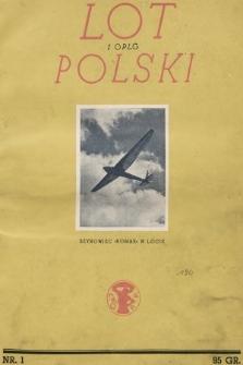 Lot i OPLG Polski. 1937, nr1