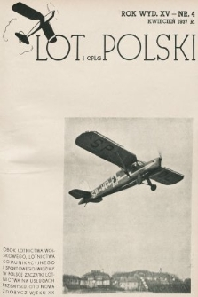 Lot i OPLG Polski. 1937, nr4