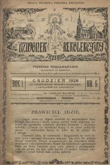 Dzwonek Rekolekcyjny z Trzebini : pisemko rekolekcyjne. 1928, nr5