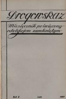 Drogowskaz : miesięcznik poświęcony rekolekcjom zamkniętym. 1937, [nr2]
