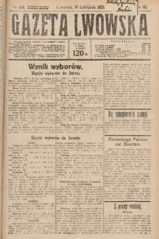 Gazeta Lwowska. 1922, nr249