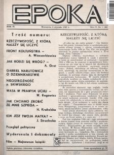 Epoka. 1937, nr1