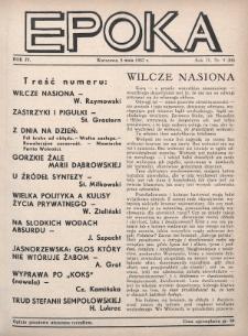 Epoka. 1937, nr9