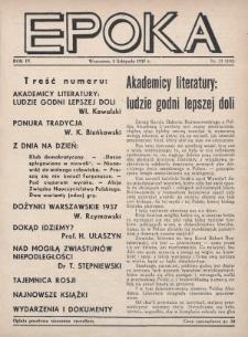Epoka. 1937, nr21