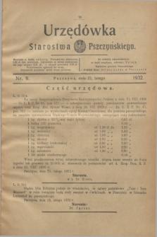 Urzędówka Starostwa Pszczyńskiego. 1932, nr 9 (27 lutego)