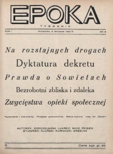 Epoka. 1932, nr6