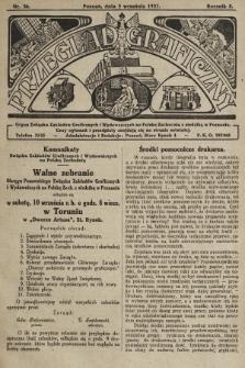Przegląd Graficzny : Organ Związku Zakładów Graficznych i Wydawniczych na Polskę Zachodnią z siedzibą w Poznaniu. R. 7, 1927, nr36