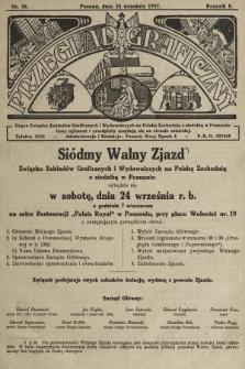 Przegląd Graficzny : Organ Związku Zakładów Graficznych i Wydawniczych na Polskę Zachodnią z siedzibą w Poznaniu. R. 7, 1927, nr39