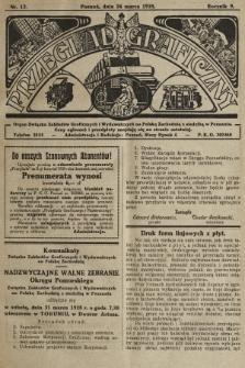 Przegląd Graficzny : Organ Związku Zakładów Graficznych i Wydawniczych na Polskę Zachodnią z siedzibą w Poznaniu. R. 9, 1928, nr12
