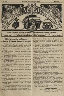 Przegląd Graficzny : organ Korporacyj Zakładów Graficznych i Wydawniczych na Ziemiach Zachodnich. R. 9, 1928, nr29
