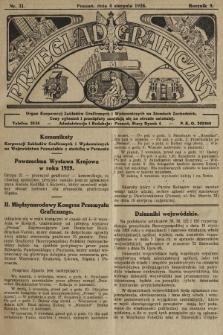Przegląd Graficzny : organ Korporacyj Zakładów Graficznych i Wydawniczych na Ziemiach Zachodnich. R. 9, 1928, nr31