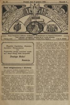 Przegląd Graficzny : organ Korporacyj Zakładów Graficznych i Wydawniczych na Ziemiach Zachodnich. R. 9, 1928, nr52