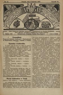 Przegląd Graficzny : organ Korporacyj Zakładów Graficznych i Wydawniczych na Ziemiach Zachodnich. R. 10, 1929, nr14
