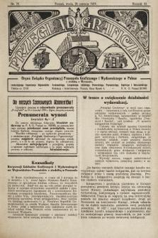 Przegląd Graficzny : organ Związku Organizacyj Przemysłu Graficznego i Wydawniczego w Polsce. R. 10, 1929, nr25