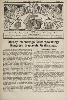 Przegląd Graficzny : organ Związku Organizacyj Przemysłu Graficznego i Wydawniczego w Polsce. R. 10, 1929, nr36
