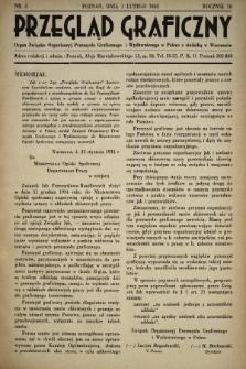 Przegląd Graficzny : Organ Związku Organizacyj Przemysłu Graficznego i Wydawniczego w Polsce z siedzibą w Warszawie. R. 16, 1935, nr3