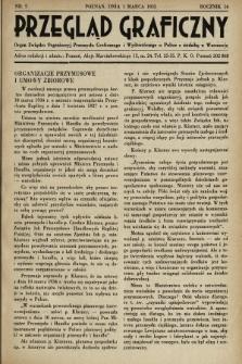 Przegląd Graficzny : Organ Związku Organizacyj Przemysłu Graficznego i Wydawniczego w Polsce z siedzibą w Warszawie. R. 16, 1935, nr5