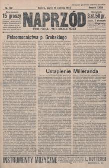 Naprzód : organ Polskiej Partji Socjalistycznej. 1924, nr132