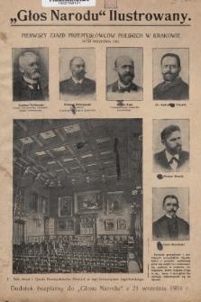 """""""Głos Narodu"""" Ilustrowany : dodatek bezpłatny do """"Głosu Narodu"""" z 21 września 1901 r., [nr 1]"""