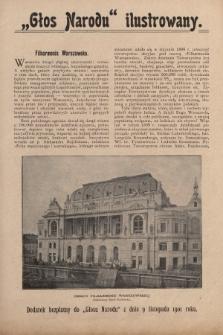 """""""Głos Narodu"""" ilustrowany : dodatek bezpłatny do """"Głosu Narodu"""" z dnia 9 listopada 1901 roku, [nr8]"""