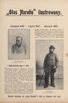 """""""Głos Narodu"""" ilustrowany : dodatek bezpłatny do """"Głosu Narodu"""" z dnia 30 listopada 1901 roku, [nr11]"""