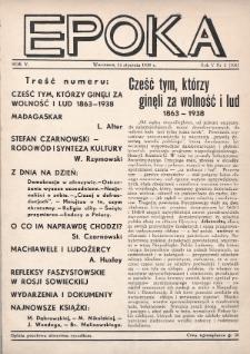 Epoka. 1938, nr2