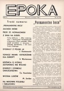 Epoka. 1938, nr10