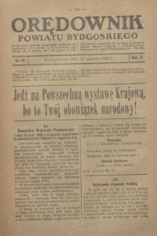 Orędownik Powiatu Bydgoskiego : wychodzi raz tygodniowo i to w środę. R.78, nr 26 (26 czerwca 1929)