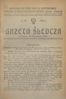 Gazeta Śledcza. [R.2], L. 97 (17 września 1920)