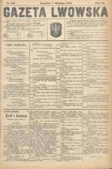 Gazeta Lwowska. 1919, nr209