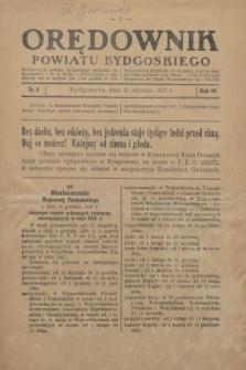 Orędownik Powiatu Bydgoskiego : wychodzi raz tygodniowo i to w środę. R.86, nr 4 (27 stycznia 1937)