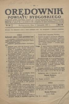 Orędownik Powiatu Bydgoskiego : wychodzi raz tygodniowo i to w środę. R.86, nr 46 (17 listopada 1937)