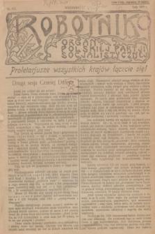 Robotnik : organ Polskiej Partji Socjalistycznej [Lewicy]. 1909, nr 216 (luty)