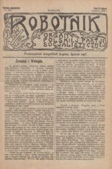 Robotnik : organ Polskiej Partji Socjalistycznej [Lewicy]. 1910, nr 223 (grudzień) - wyd. zagraniczne