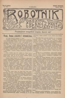 Robotnik : organ Polskiej Partji Socjalistycznej [Lewicy]. 1913, nr 235 (marzec) - wyd. zagraniczne