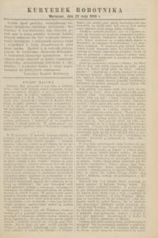 Kuryerek Robotnika. 1898 (22 maja)