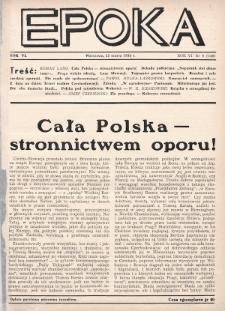 Epoka. 1939, nr9
