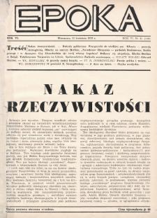 Epoka. 1939, nr11