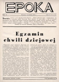 Epoka. 1939, nr12