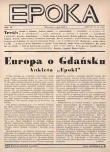 Epoka. 1939, nr19
