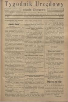 Tygodnik Urzędowy miasta Chorzowa.R.3, nr 19 (27 czerwca 1936)