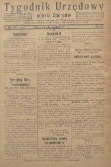 Tygodnik Urzędowy miasta Chorzów.R.4, nr 46 (18 grudnia 1937)