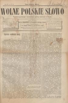 Wolne Polskie Słowo. R.2 [i.e.3], No 42 (1 czerwca 1889)