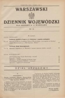 Warszawski Dziennik Wojewódzki dla Obszaru m. st. Warszawy.1932, nr 9 (3 marca)