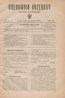 Orędownik Urzędowy powiatu tczewskiego. R.8[!], nr 3 (31 stycznia 1928)