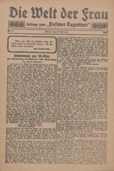 """Die Welt der Frau : Beilage zum """"Posener Tageblatt"""".1927, Nr. 3 (6 Februar)"""