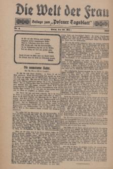 """Die Welt der Frau : Beilage zum """"Posener Tageblatt"""".1927, Nr. 6 (20 März)"""