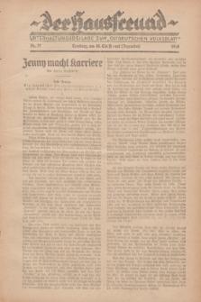 """Der Hausfreund : Unterhaltungsbeilage zum """"Ostdeutschen Volksblatt"""".1928, Nr. 27 (16 Christmont [Dezember])"""